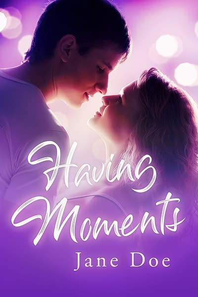 premade romance ebook cover