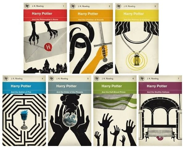 HPotter covers by M S Corley