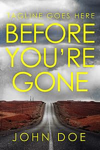 thriller premade book cover for sale